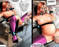 Poor enslaved hotties tortured by their - BDSM Art Collection - Pic 3