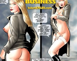 Awesome blonde babe in sexy lingerie - BDSM Art Collection - Pic 6