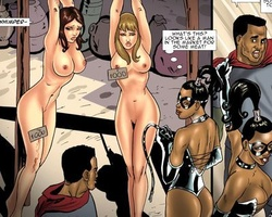Two cute slaves with perfect boobs are - BDSM Art Collection - Pic 2