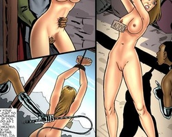 Two cute slaves with perfect boobs are - BDSM Art Collection - Pic 6