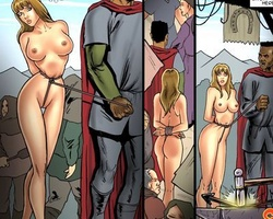 Perfect body slave girl giving an - BDSM Art Collection - Pic 3