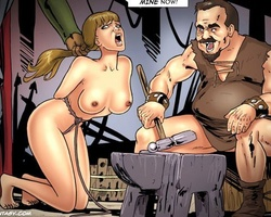 Perfect body slave girl giving an - BDSM Art Collection - Pic 4