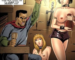 Helpless enslaved girl forced to serve - BDSM Art Collection - Pic 3