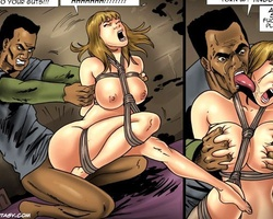 Blonde slave beauty licking and sucking - BDSM Art Collection - Pic 5