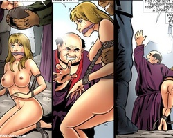 Enslaved blonde cutie was sold by her - BDSM Art Collection - Pic 3