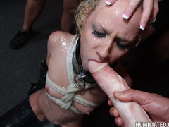 Dirty slut gets roped, fucked, and disgraced - Unique Bondage - Pic 3