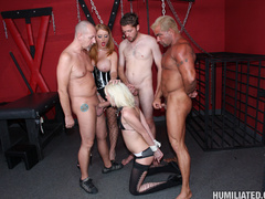 Dirty slut gets roped, fucked, and disgraced - Unique Bondage - Pic 8