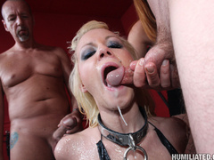 Dirty slut gets roped, fucked, and disgraced - Unique Bondage - Pic 11