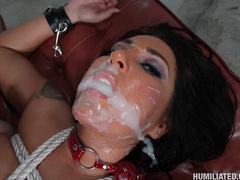 Stewardess gets disgraced and creampied! - Unique Bondage - Pic 14