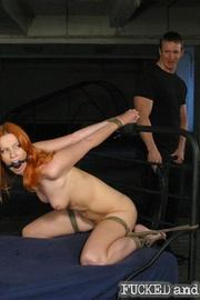 Hot slave tormented - Unique Bondage - Pic 2