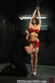 Master plays with his toy - Unique Bondage - Pic 5
