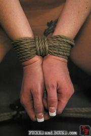 Slave likes kinky sex - Unique Bondage - Pic 16