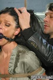 Office assistant abused - Unique Bondage - Pic 2
