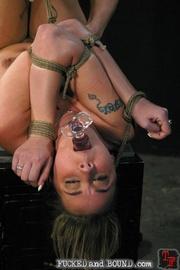 Slave serviced in all holes - Unique Bondage - Pic 8