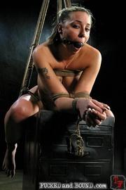 Slave serviced in all holes - Unique Bondage - Pic 10