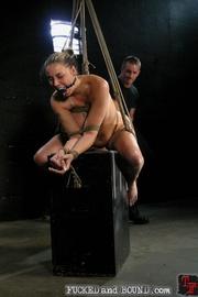 Slave serviced in all holes - Unique Bondage - Pic 11