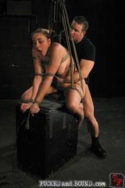 Slave serviced in all holes - Unique Bondage - Pic 13