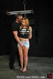 Brutally flogged bitch - Unique Bondage - Pic 2