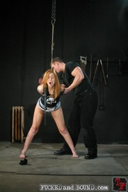Brutally flogged bitch - Unique Bondage - Pic 3