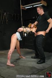 Brutally flogged bitch - Unique Bondage - Pic 6