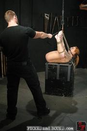 Brutally flogged bitch - Unique Bondage - Pic 8