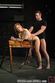 Brutally flogged bitch - Unique Bondage - Pic 15