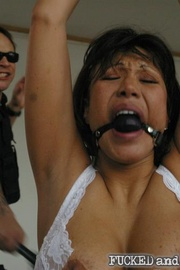 Street hooker Ava Devine has once again been - Unique Bondage - Pic 7