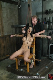 Gorgeous, young Nadia Styles has been tied - Unique Bondage - Pic 2