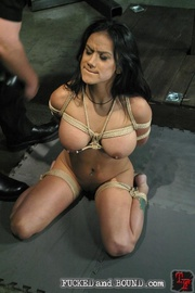 Gorgeous, young Nadia Styles has been tied - Unique Bondage - Pic 5