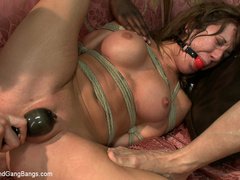 Amy Brooke gets stuffed air-tight and double - Unique Bondage - Pic 13