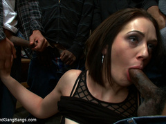 Sarah Shevon gets double penetrated in - Unique Bondage - Pic 2