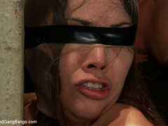 Kristina Rose in her FIRST GANGBANG - Unique Bondage - Pic 3