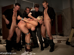 Candy Manson is helplessly bound in duct - Unique Bondage - Pic 5
