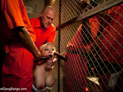 Samantha Sin is a sexy prison warden who - Unique Bondage - Pic 2