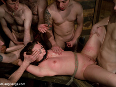Devaun tied up and fucked by a gang of - Unique Bondage - Pic 13