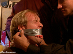 Loan sharks show up at Ned's house, and when - Unique Bondage - Pic 1