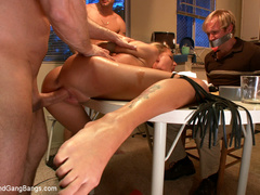 Loan sharks show up at Ned's house, and when - Unique Bondage - Pic 7