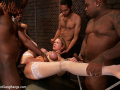 Rain Degrey cums hard as she is tied up and - Unique Bondage - Pic 9
