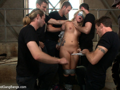 Casey Cumz sneaks into the armory for some - Unique Bondage - Pic 2