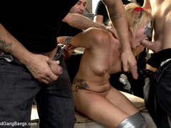 Casey Cumz sneaks into the armory for some - Unique Bondage - Pic 3