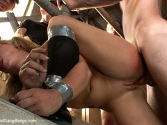 Casey Cumz sneaks into the armory for some - Unique Bondage - Pic 7