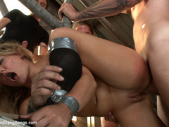 Casey Cumz sneaks into the armory for some - Unique Bondage - Pic 8