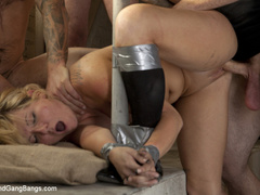 Casey Cumz sneaks into the armory for some - Unique Bondage - Pic 9