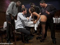 Leilani Leeanne is a waitress with an - Unique Bondage - Pic 2