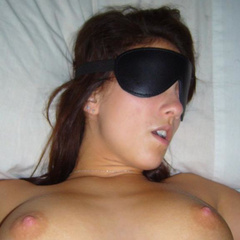 Blindfolded amateur on a leash lets him use - Unique Bondage - Pic 8