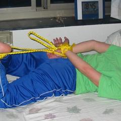Sexy rope bondage and submissiveness fill - Unique Bondage - Pic 4