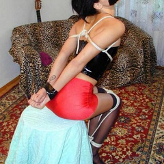 The masters tie their submissive slaves and - Unique Bondage - Pic 8
