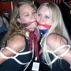 Amateur bondage hotties love the way the - Unique Bondage - Pic 13