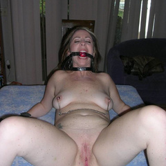 Tied and humiliated amateurs dip their toes - Unique Bondage - Pic 3