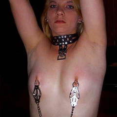 Nipple clamps and bondage and more fun with - Unique Bondage - Pic 3